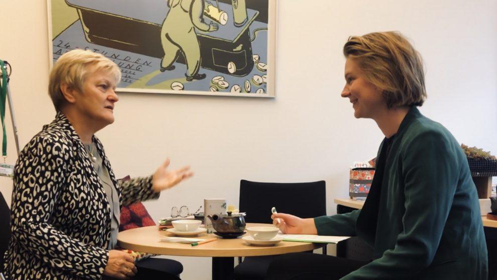 """Renate Künast: """"Wir sind beharrlich geblieben und haben genervt."""""""