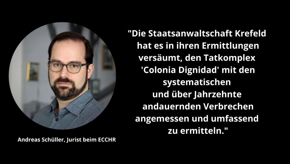Jurist Andreas Schüller über den aktuellen Stand im Fall Hartmut Hopp